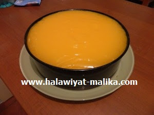 كيكة باردة بالبرتقال لا تقاوم