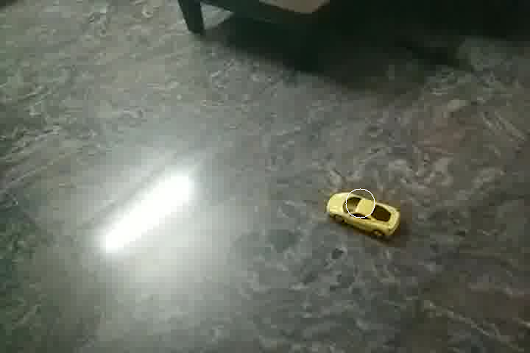 Something in ComputerScience I have worked with/Working on: Detecting the Toy Car with OpenCV