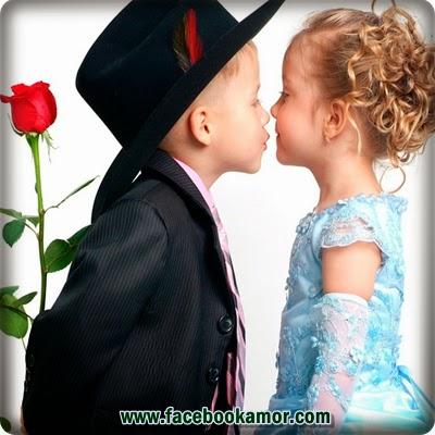 fotografías románticas de niños