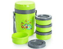 Cello Micra Insulated 4 Container Lunch Carrier For Rs 429 at Amazon