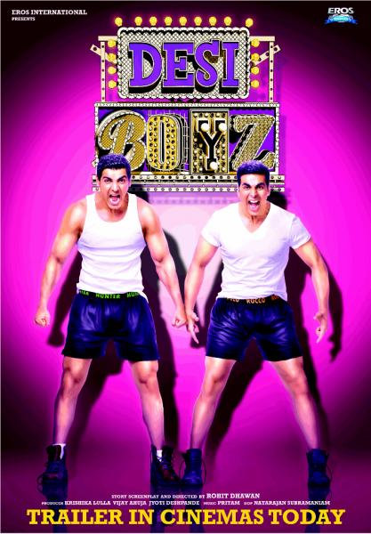 Deepika Padukone & John Abraham (Desi Boyz Movie