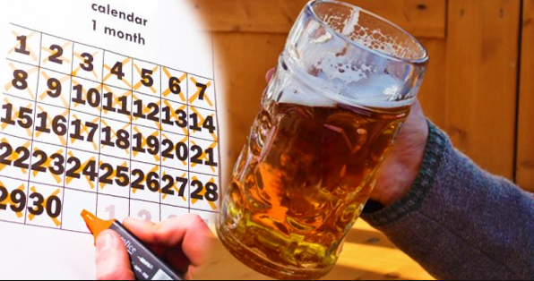He Drank 50 Ounces Of Beer Every Day For A Month. When He Went To The Doctor, He Was Shocked!