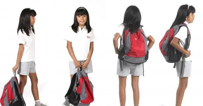 Sigue estos consejos al momento de comprar las mochilas para sus hijos