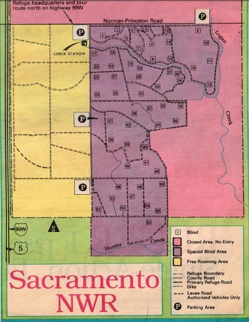 how to hunt sacramento refuge