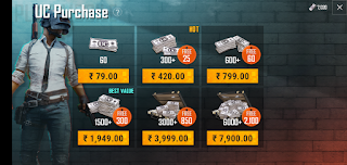 Free 8000 UC for Pubg Mobile |