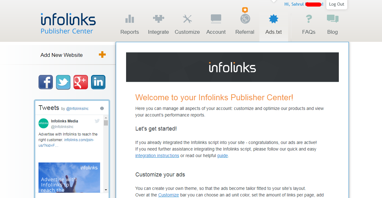 Infolinks Advertising