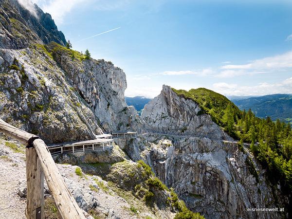Vistas desde Eisriesenwelt (Werfen, Austria)