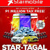 Starmobile STAR-TAGAL Christmas Promo, Win Toyota Wigo, Innova or 1M Pesos Tax Free