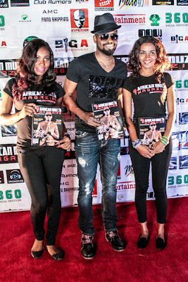 Basketmouth at African Muzik Magazine launch