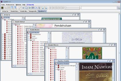 Software Al-Quran dan Hadits Bahasa Indonesia