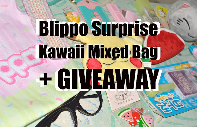 Look what I found in this japanese kawaii bag and try to win one yourself! #giveaway #blipposurprise #kawaiibag #kawaiiitems #japanesestuff #internationalgiveaway #review #cutestationery #cutegadgets #makeupfungiveaway #plushies #winabag