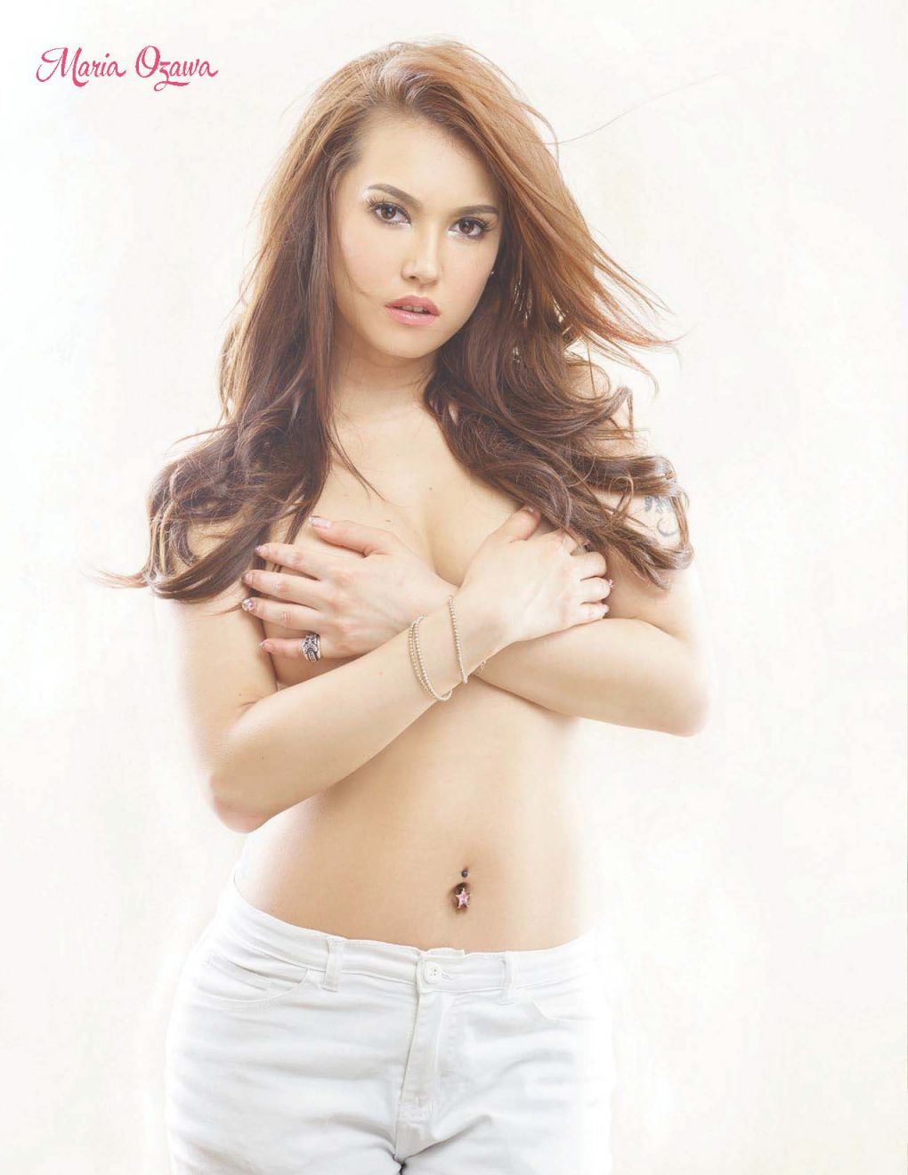 Japanese Sexy Model Maria Ozawa Topless Pictures-9706