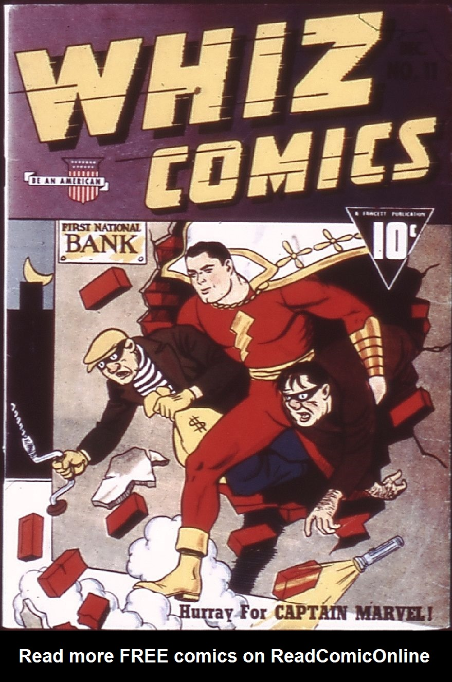 WHIZ Comics 11 Page 1