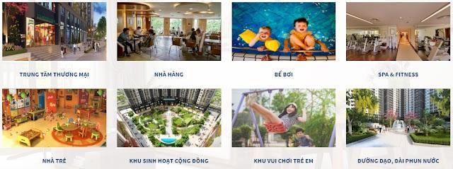 Tiện ích nhà ở xã hội Thăng Long Green City Kim Chung Đông Anh