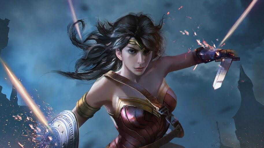 Wonder Woman 4k Wallpaper 4 245