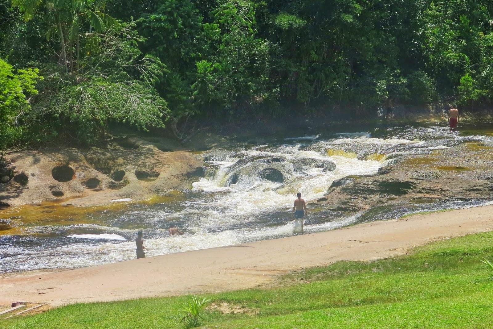 Parque do Urubuí, em Presidente Figueiredo