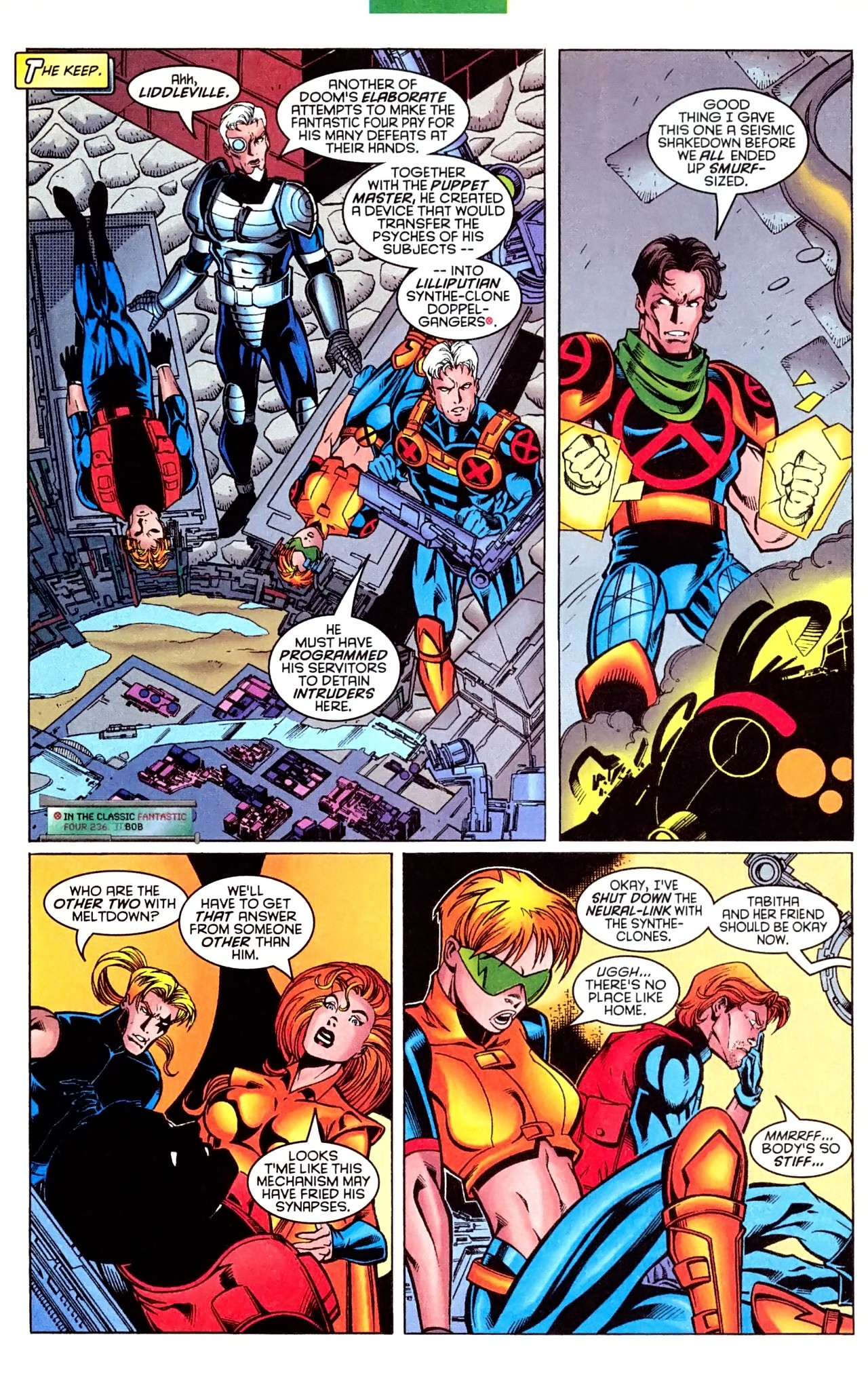 Read online X-Force (1991) comic -  Issue #63 - 24