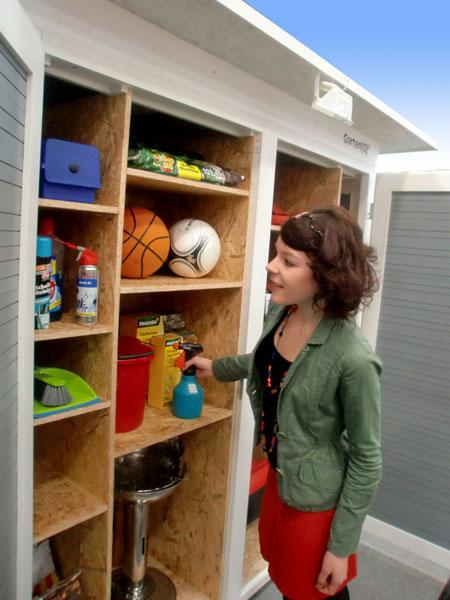 Ordentlich Garten[Q] :: moderne Gartenhäuser, Gartenschränke, Müllboxen und  TO66