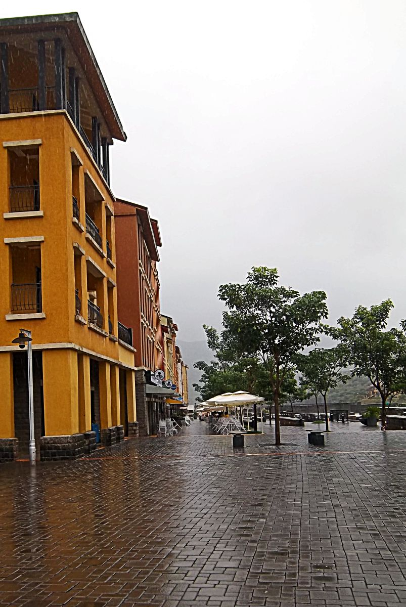 Stock Pictures: Lavasa hill city near Pune