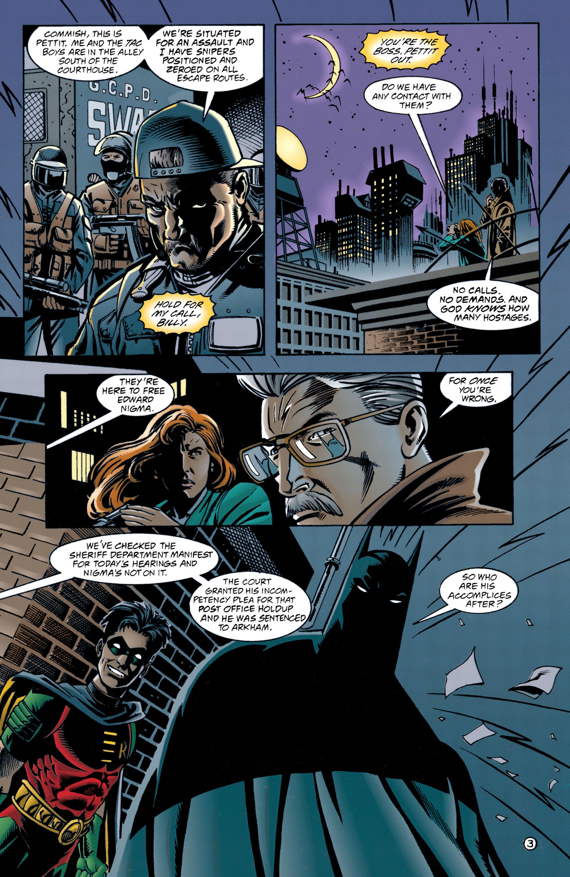 Detective Comics (1937) 705 Page 3