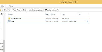 Cara Menyembunyikan File/Folder Di Windows Tanpa Aplikasi