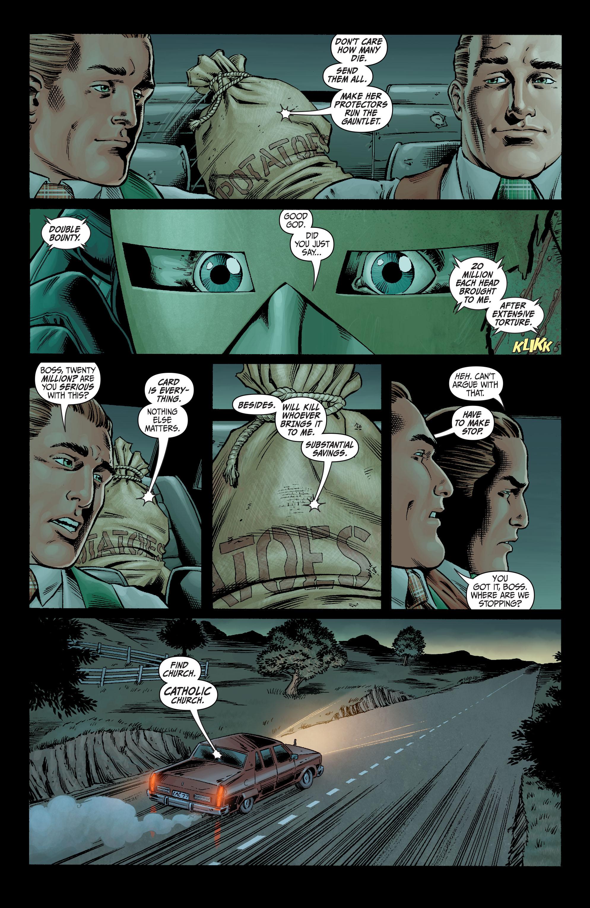 Read online Secret Six (2008) comic -  Issue #4 - 9