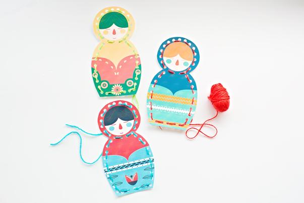 """Résultat de recherche d'images pour """"matriochka lace cards"""""""
