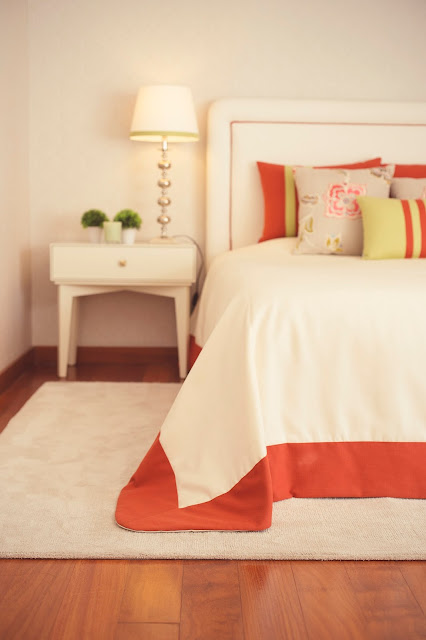 soft and colorful bedroom @perfect home interiors
