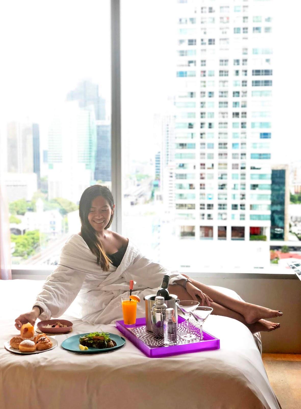 W Hotel Bangkok Food