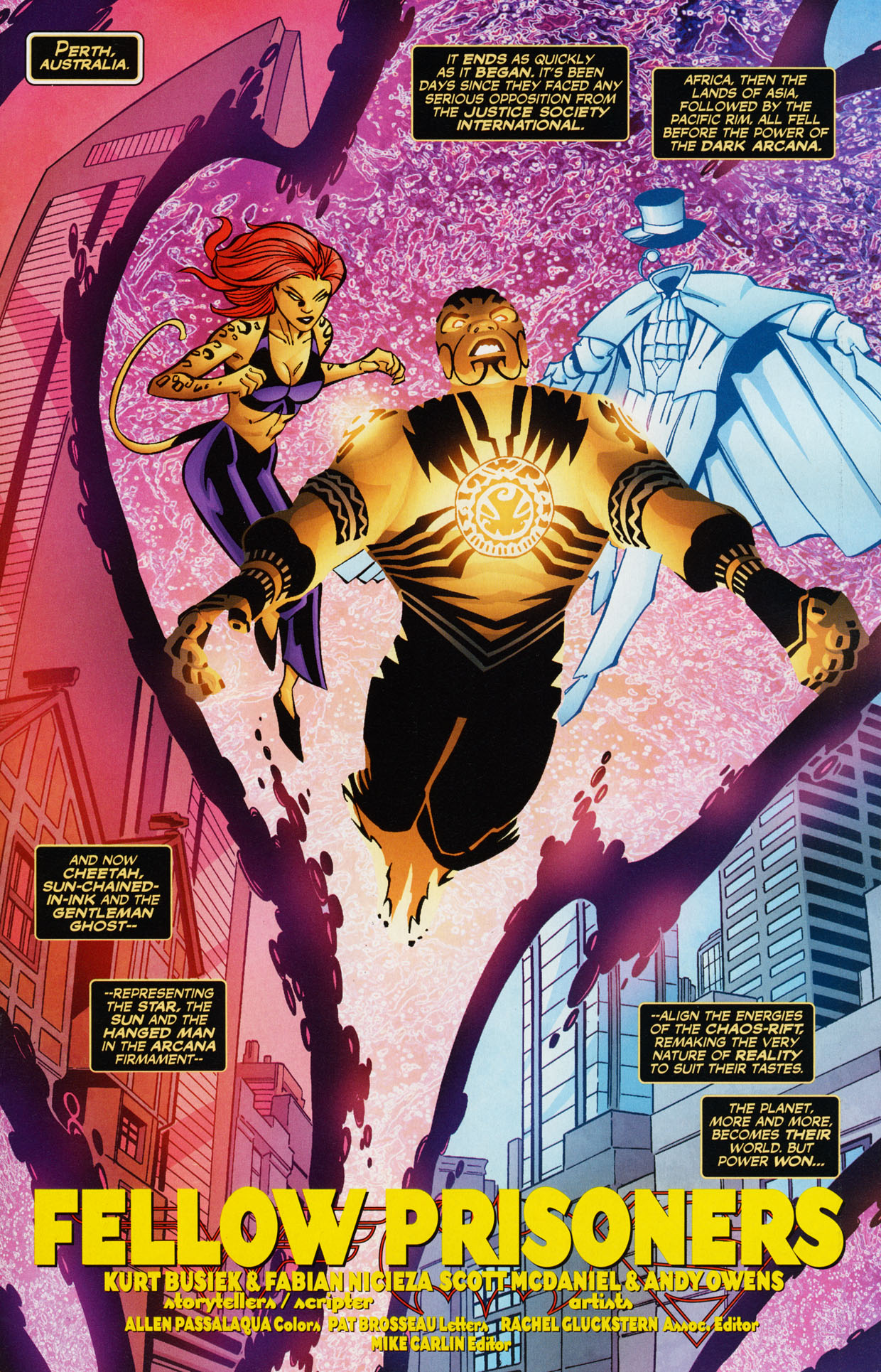 Read online Trinity (2008) comic -  Issue #36 - 19