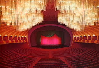 boccascena originale del nuovo Teatro Regio di Torino