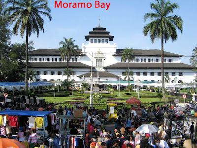 Moramo Bay in Sulawesi Island