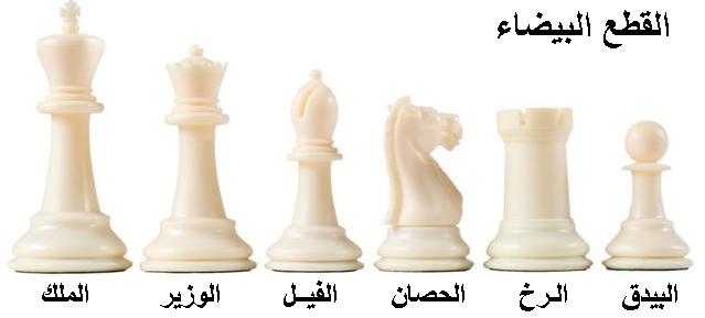 صورة القطع البيضاء