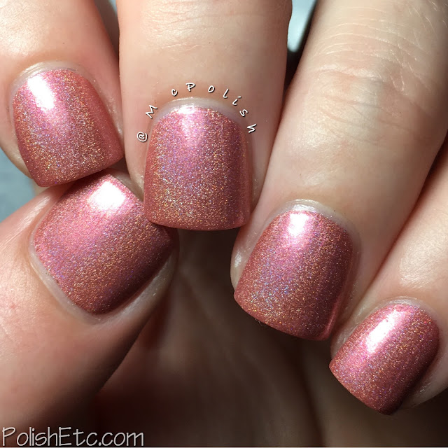 Fair Maiden Polish - Color4Nails exclusives - McPolish - Vintage Rose