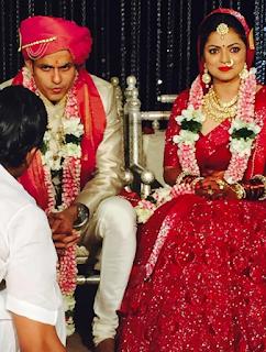 Foto Pernikan Drashti Dhami Bersama Suami