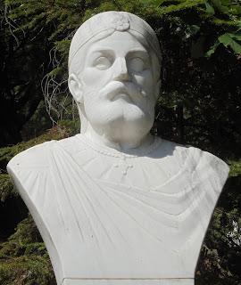 προτομή του Βασίλειου Β΄ του Βουλγαροκτόνου στο Μουσείο Μακεδονικού Αγώνα του Μπούρινου