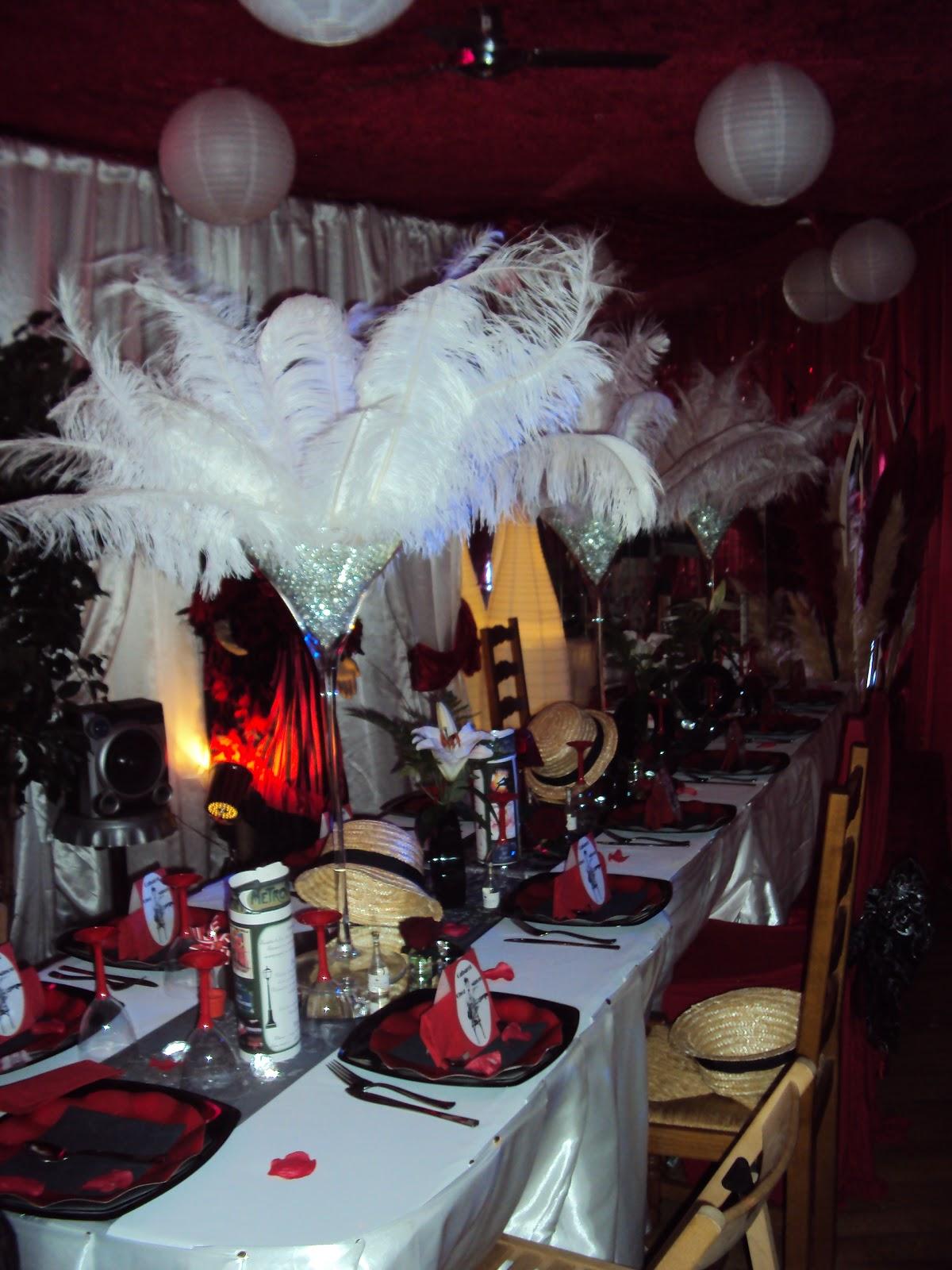 Decoration Theme Cabaret Anniversaire