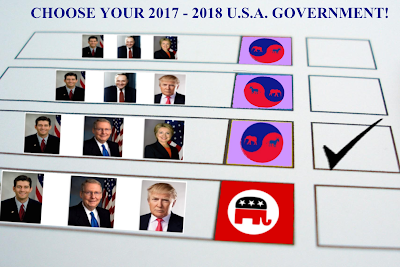 All Four Realistic 2016 US Election Outcomes