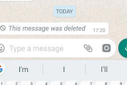 Cara Menghapus Pesan WA Sudah Terkirim Di iPhone