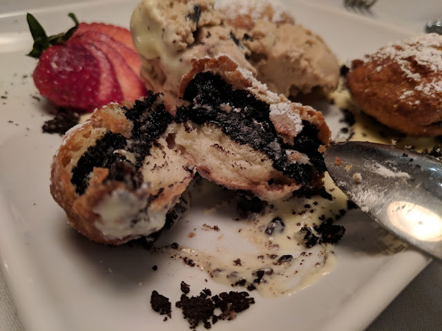 Perfect Winter Weekend at Pheasant Run Resort deep fried oreos