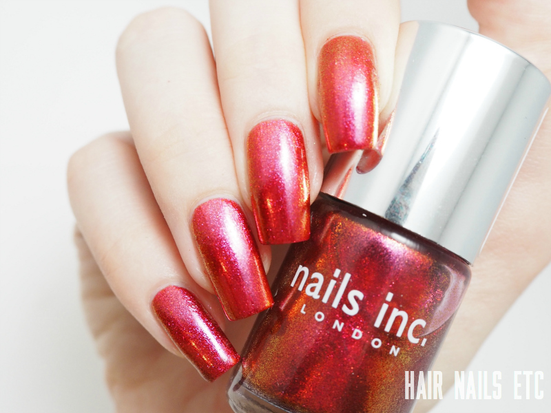 Nails Inc - New Burlington Place - Swatches and Review
