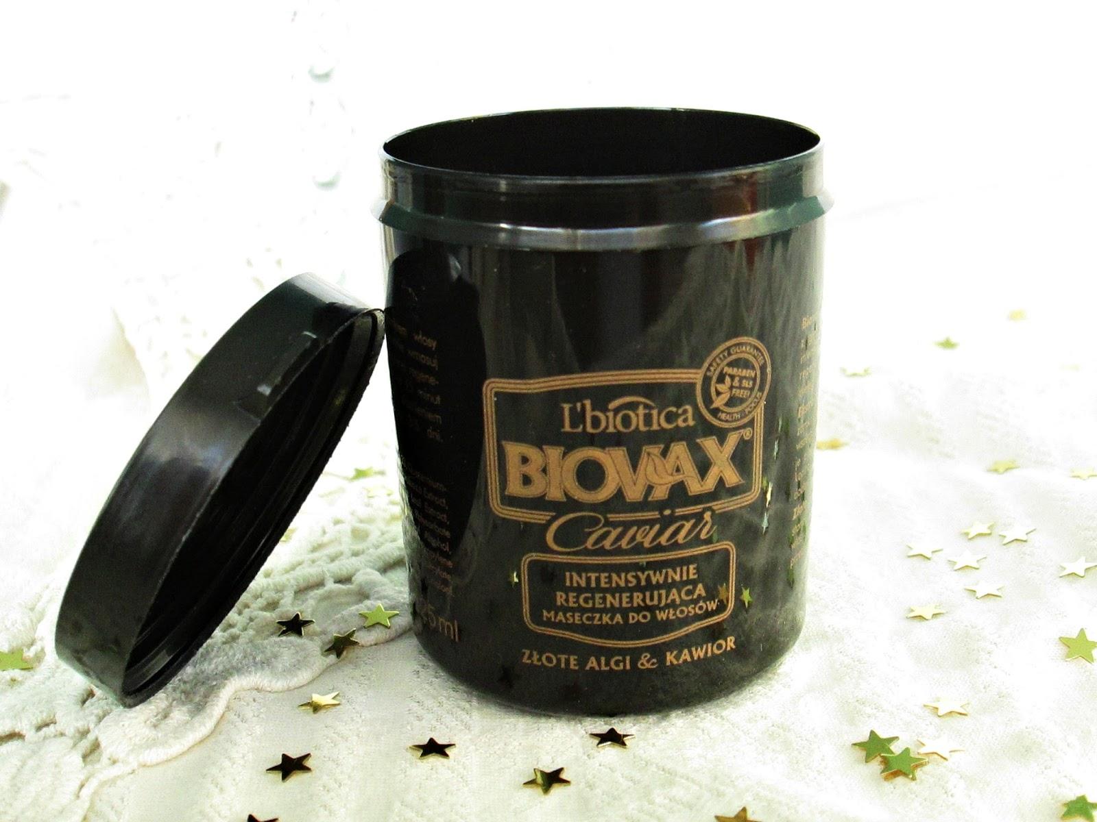 Biovax Caviar maska do włosów