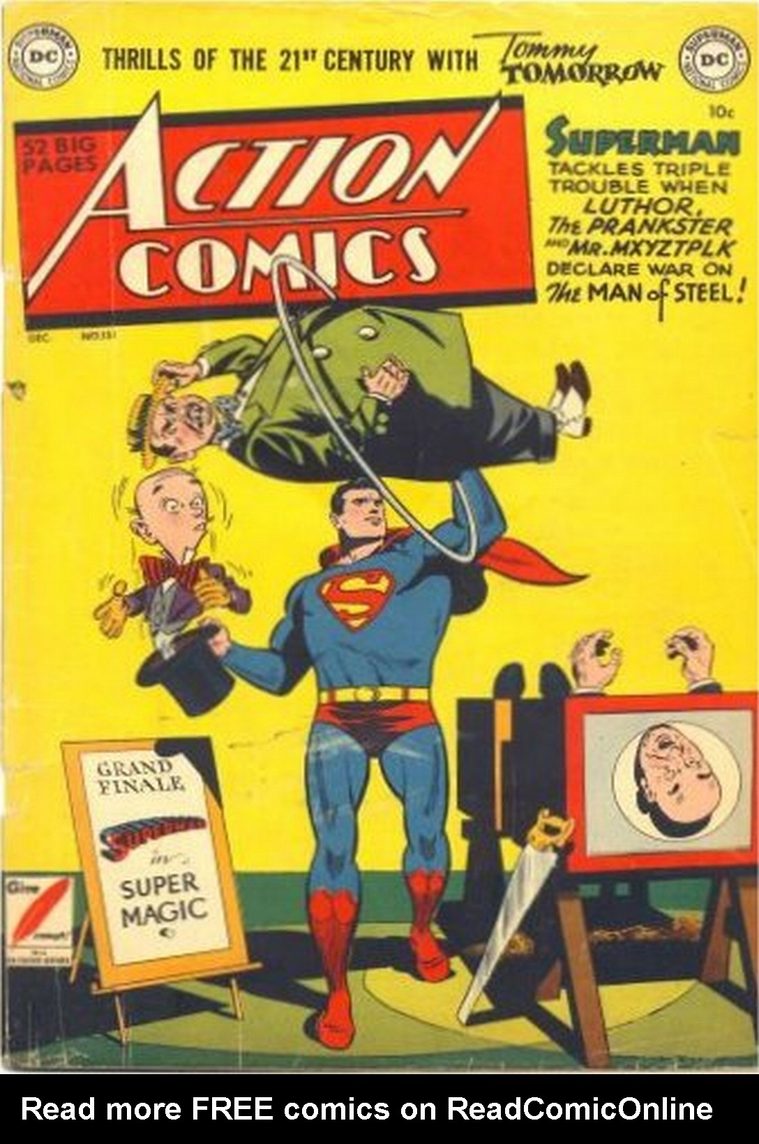 Read online Action Comics (1938) comic -  Issue #151 - 1