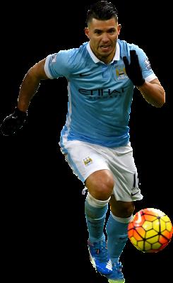 Sergio Aguero - Manchester City v3