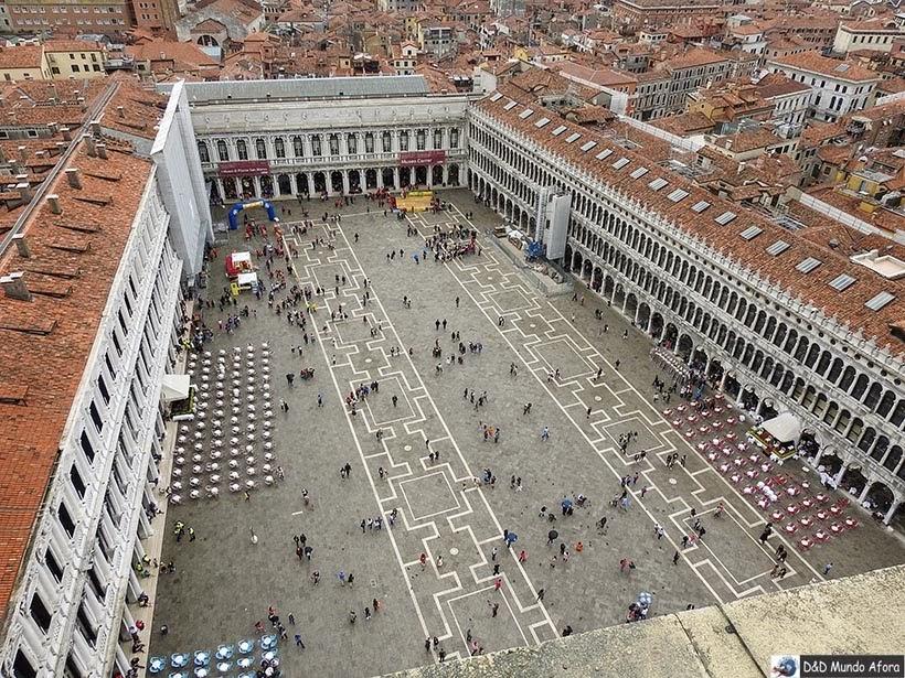 Praça São Marcos - O que fazer em Veneza
