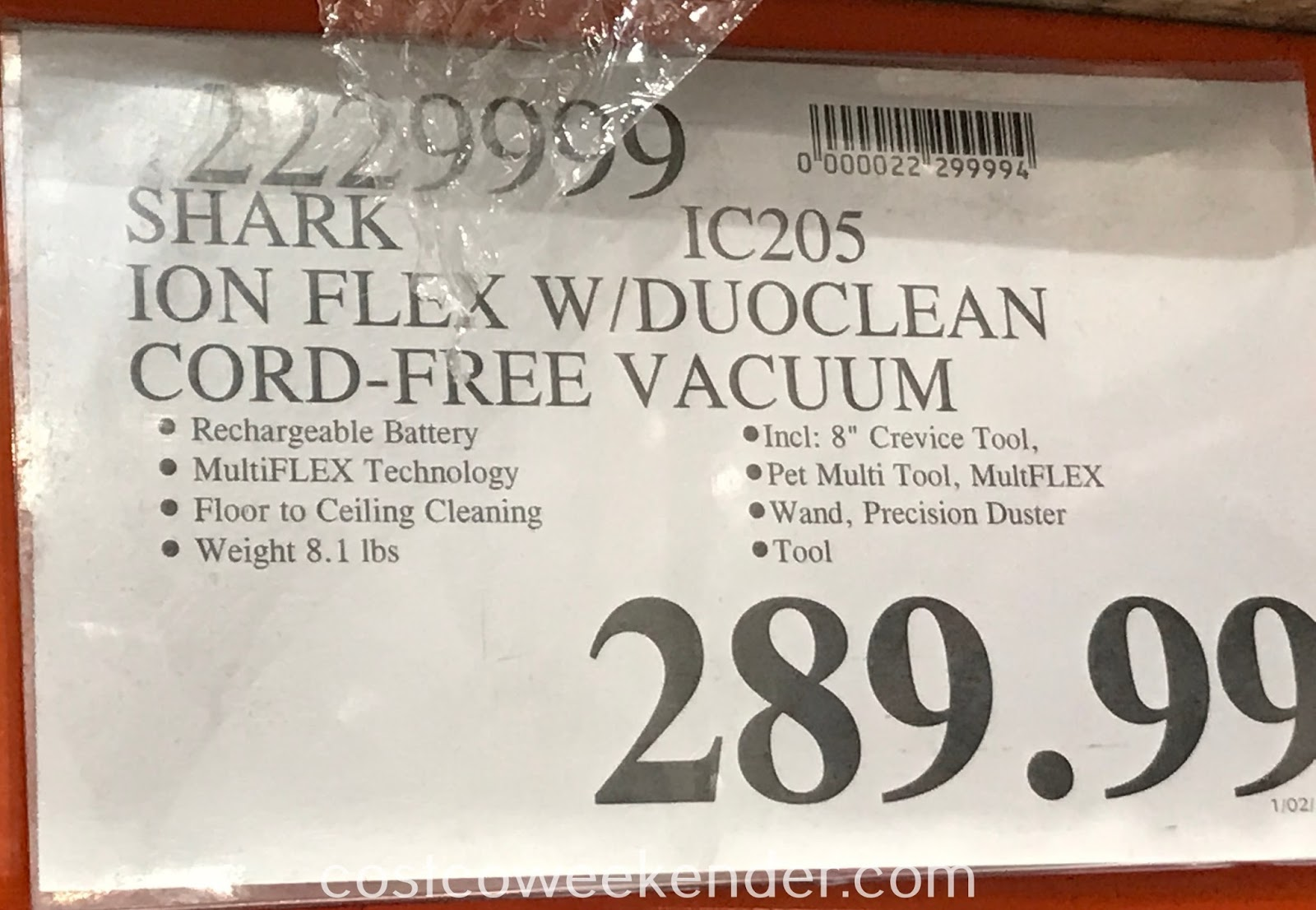 Deal for the Shark Ion Flex Cord-free Vacuum at Costco