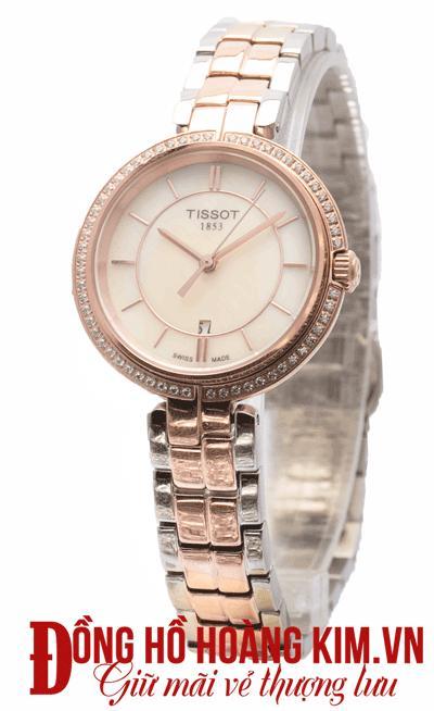 đồng hồ tissot nữ dây sắt thời trang