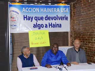 Haineros envían documento al presidente Danilo Medina