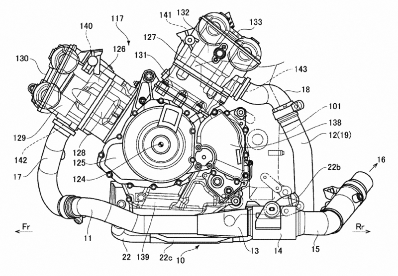 VOROMV Moto: Suzuki está preparando un nuevo V-Twin de