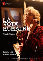 CHRBR045 - La Voix Humain - front Cover, Felicity Lott, Graham Johnson, Champs Hill Records